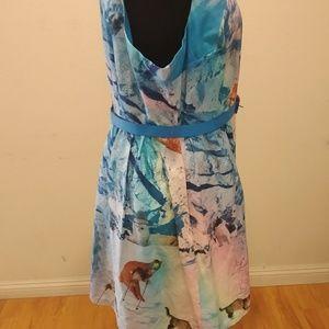 Modcloth Dresses - ModCloth Snow Cat Dress
